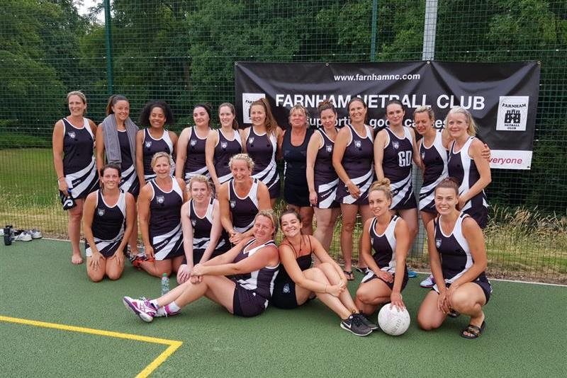 Farnham Netball Club nets over £12k for charity after 12-hour challenge
